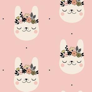 Happy Bunny - Blush