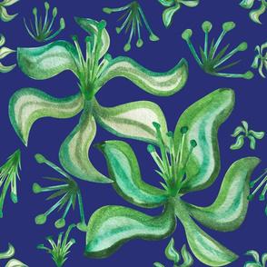 green flowers2