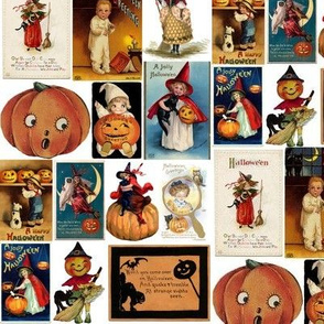 Vintage Halloween Cards ~ Medium