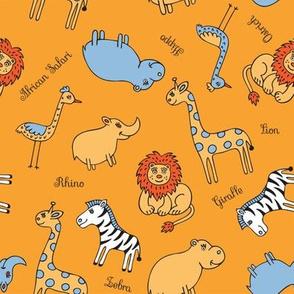 African animals_pattern1