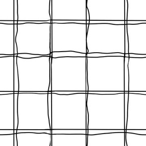 Grid - black and white