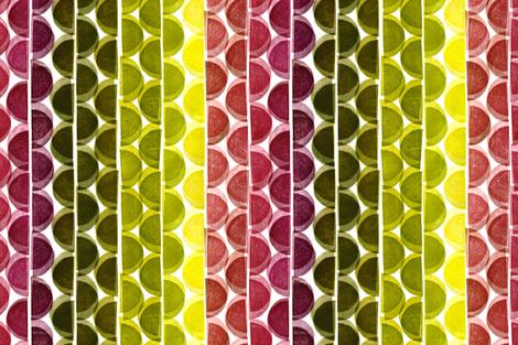 Teatowel Retro fabric by honey_gherkin on Spoonflower - custom fabric