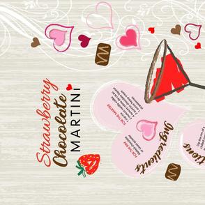 Strawberry Chocolate Martini
