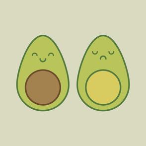 Cute Kawaii Avocados