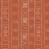 Mudcloth Medium (Rust)