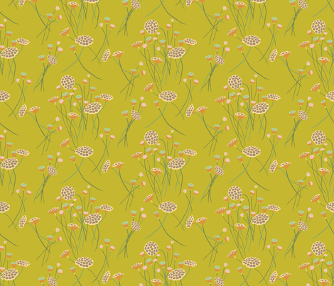 After the Frost in Gold fabric by ttl_kirsten on Spoonflower - custom fabric