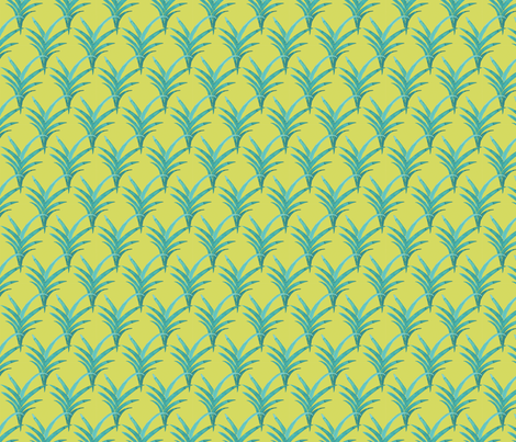 Tropical Stalks fabric by rachael_king on Spoonflower - custom fabric