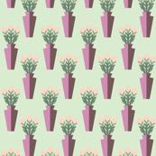 Rosebud Vases