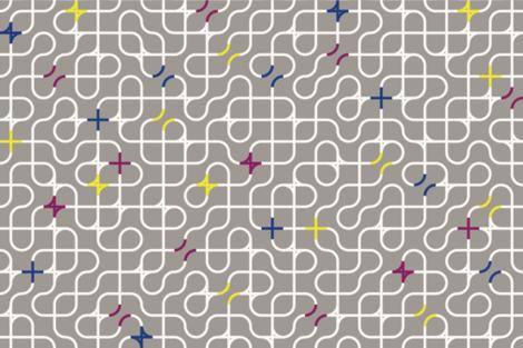 Trellis fabric by lumeme on Spoonflower - custom fabric