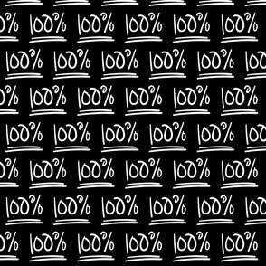 100% inverted :: marker doodles black and white monochrome typography
