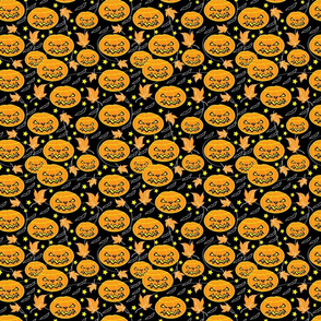 Halloween Jack O' Lanterns Orange