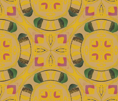 Roman Compass fabric by david_kent_collections on Spoonflower - custom fabric