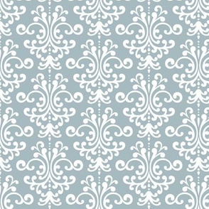 damask slate blue