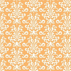 damask mango orange