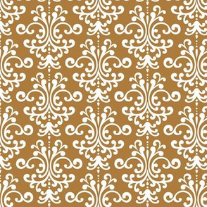 damask caramel