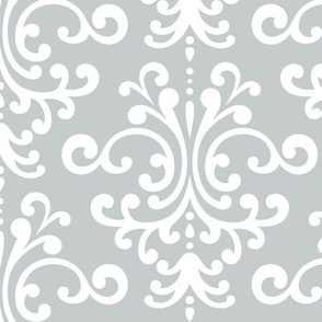 damask lg sterling grey
