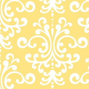 damask lg sunshine yellow