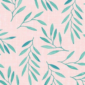 willow - Turquoise Pink texture