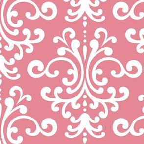 damask lg berry cream
