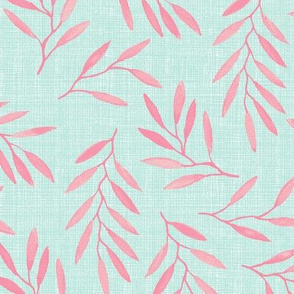 willow - Pink Mint texture