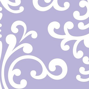 damask xl light purple