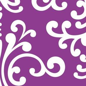 damask xl purple grape