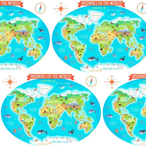 Animals of the World Atlas