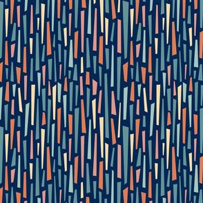 Midcentury Navy Stripe Forms-01