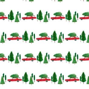 Christmas Race Car
