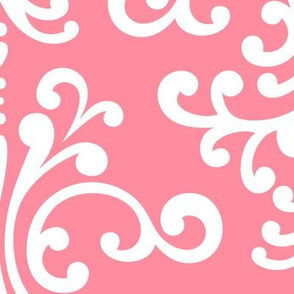 damask xl pretty pink
