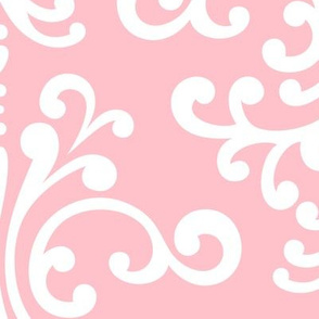damask xl light pink