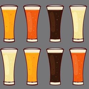 Beer Mugs on Grey-01
