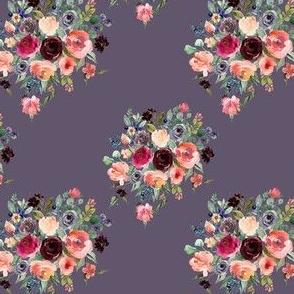 """4"""" Charlotte Bouquet - Grape"""