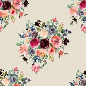 """8"""" Charlotte Bouquet - Latte"""