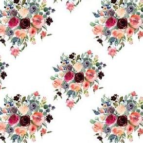 "4"" Charlotte Bouquet - White"