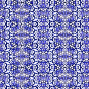 Ornate Blue Tilework