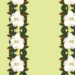 magnolia border-yellow green