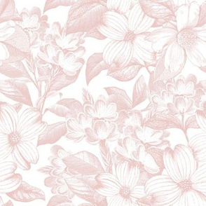 "8"" Chateau Florals - Blush"