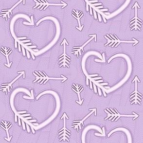 Shot Through the Heart / Arrows  -lavender