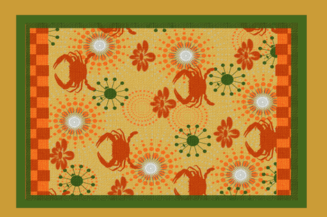 Maryland Summers fabric by lkm3s on Spoonflower - custom fabric