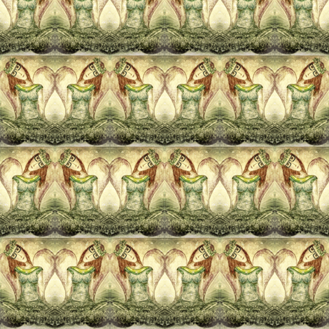 Seated in Heavenly Places fabric by sowgoodgreta on Spoonflower - custom fabric