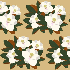 magnolia grouping-praline
