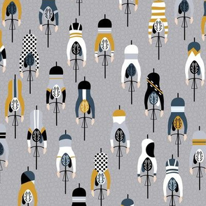 le tour - grey gold - mini