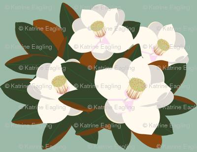 magnolia grouping-vintage green