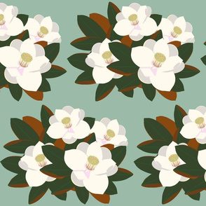 magnolia grouping-vintage green