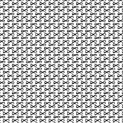 Infinity Black On White