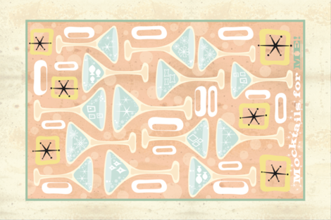 Mocktails For Me fabric by neishniche on Spoonflower - custom fabric