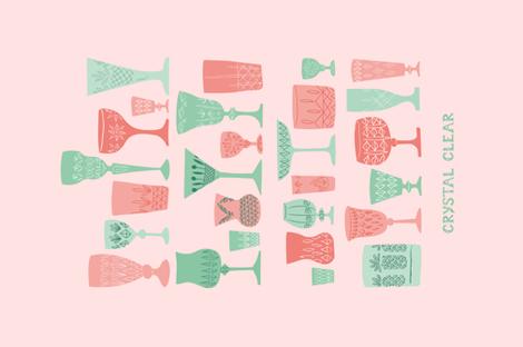 CRYSTAL CLEAR fabric by studio_lore on Spoonflower - custom fabric