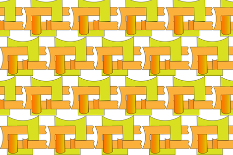 cubes and pipes 18 fabric by 16b on Spoonflower - custom fabric