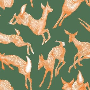 Pretty Little Fawns / Green